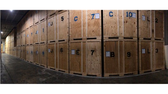 Solomon & Sons Indoor climate controlled storage Vaults